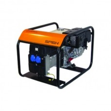 Benzininis elektros generatorius 6,0 kW SDMO, SP 6 V